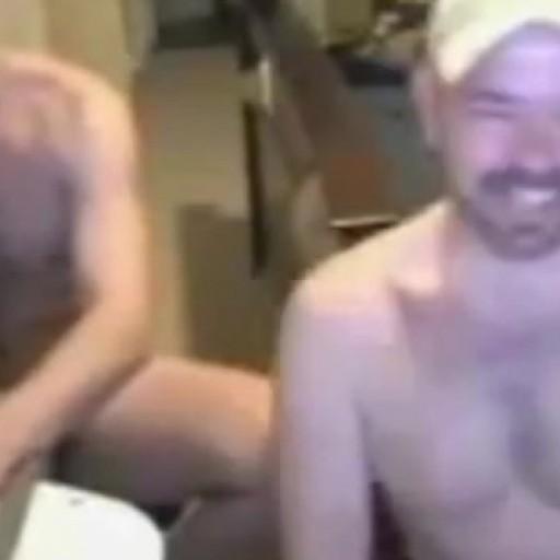 Aroused Amateur Buddies Fucking on Webcam
