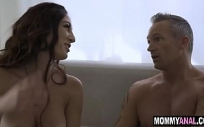Milf wife watches husband anal fuck her bff