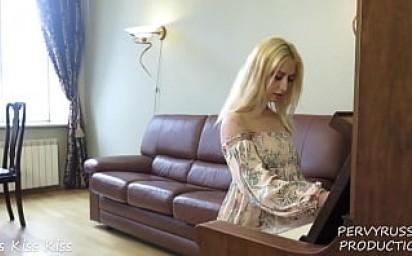 PERVYRUSSIA - A SPECIAL PIANO LESSON WHILE PARENTS IN OTHER ROOM - IRIS KISS KISS
