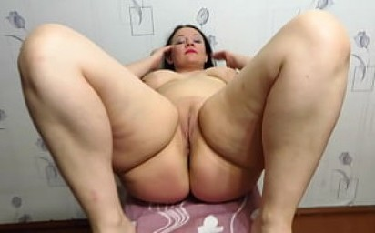 The lover caresses the plump milf. Vaginal fisting with medical glove and clit and dildo masturbation in shaved pussy. H