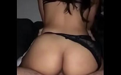 Big Ass Latina rides big dick