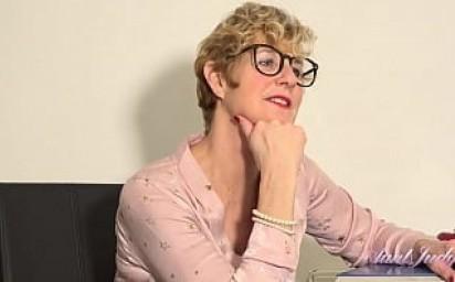 AuntJudys - Naughty 56yo Big Tit Teacher Ms.Molly