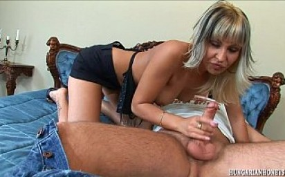Blonde ass fucked and given a facial