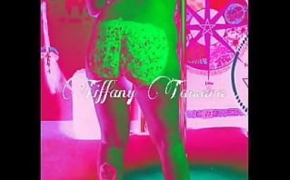 Tiffany Tamara twerks nude with frosting on her cake!!
