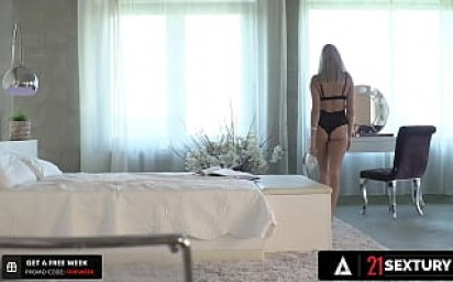 21 SEXTURY - Russian Hottie Angelika Grays Begs For An Assfucking On The Patio