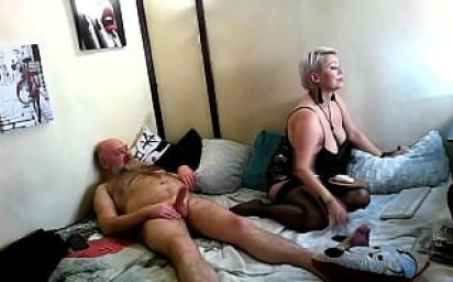 """Passionate fucking of a mature couple in the position of """"chick on top"""" with close-ups! )) The best bitch of the Network"""